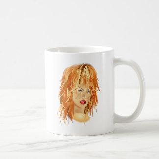 tomas_arad_portre beauty SALON HAIRSTYLES RED BLON Coffee Mug