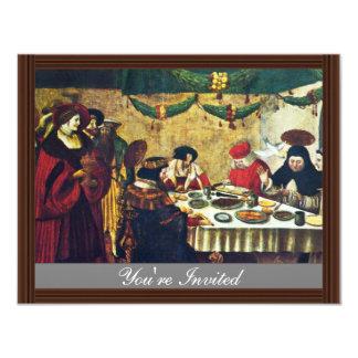 Tomás de Aquino en el Saint Louis por Deutsch Invitación