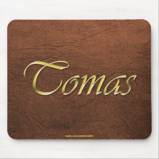 TOMAS Personalised Leather-look Mousepad