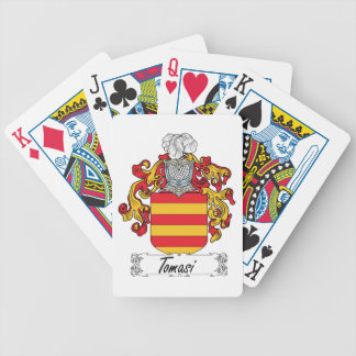 Tomasi Family Crest Poker Cards