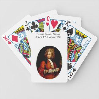 Tomaso Giovanni Albinoni Bicycle Playing Cards