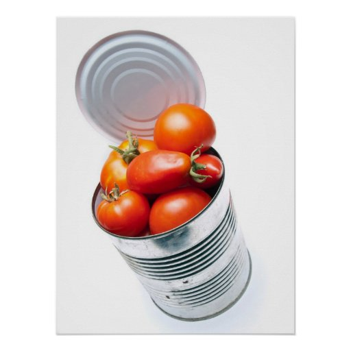 Tomate conservado posters