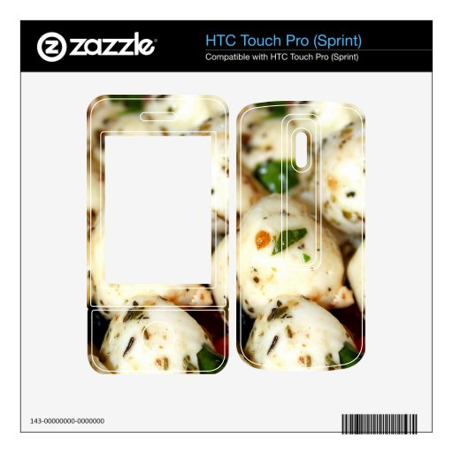 Tomate de cereza y ensalada de la mozzarella HTC touch pro skins