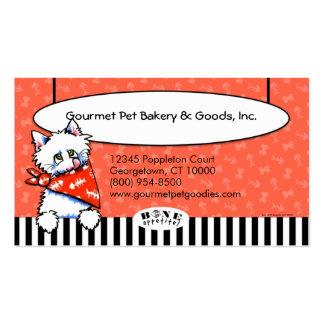 Tomate del negocio del mascota de la especialidad tarjetas de visita