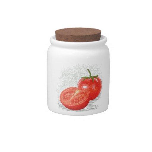 tomate jarra para caramelo