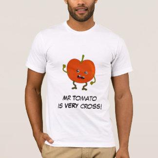 Tomate: Mala cuadrilla de la fruta con lema Playera