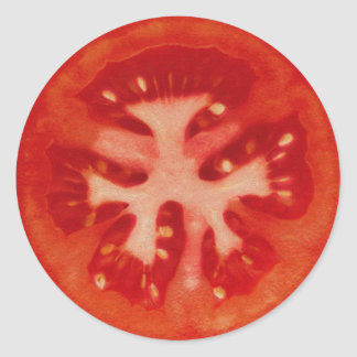 Tomate Pegatina Redonda