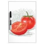 tomate pizarra blanca