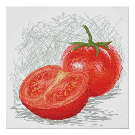 tomate póster