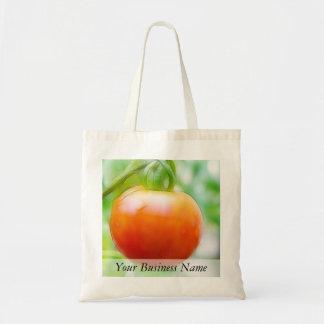 Tomate rojo maduro de la herencia bolsa tela barata