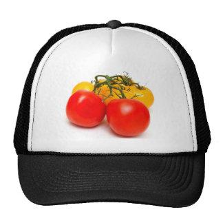 Tomate rojo y amarillo gorra
