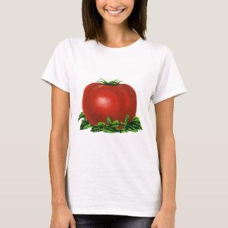 Tomate, verduras y frutas maduros rojos del playera