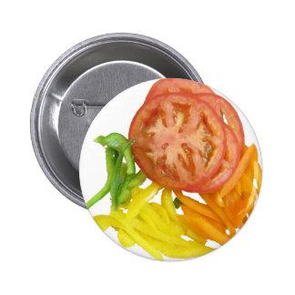 tomate y pimientas cortados pin