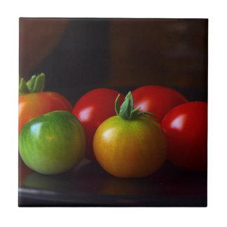 Tomates Azulejo Cuadrado Pequeño