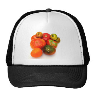 Tomates coloridos de la herencia gorra