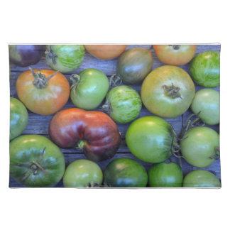 Tomates coloridos mantel