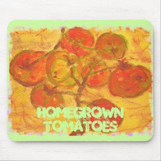 tomates de cosecha propia alfombrilla de ratones