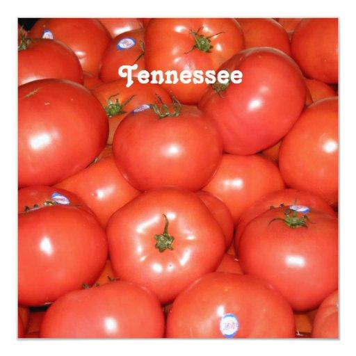 Tomates de Tennessee Invitación 13,3 Cm X 13,3cm