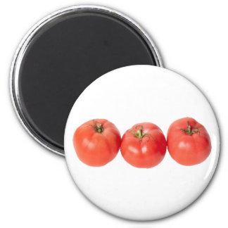 Tomates de tomatoes imán redondo 5 cm