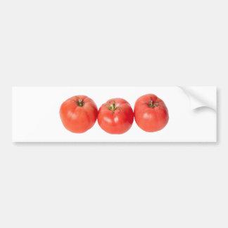 Tomates de tomatoes pegatina para auto