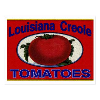 Tomates del criollo de Luisiana Postal
