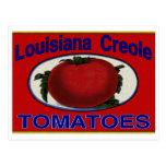 Tomates del criollo de Luisiana Tarjetas Postales
