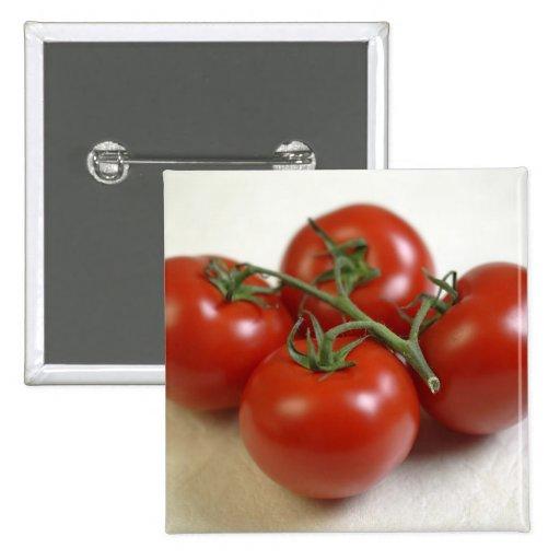 Tomates en la vid para el uso en los E.E.U.U. sola Pin Cuadrada 5 Cm