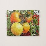 Tomates frescos de la herencia del jardín rompecabezas
