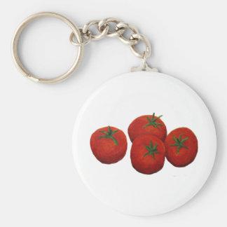 Tomates Llavero Redondo Tipo Pin