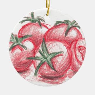 Tomates Ornamento De Navidad