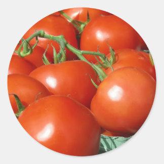 Tomates Etiqueta Redonda