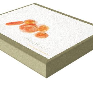 Tomates/Pomodori Impresión En Lienzo