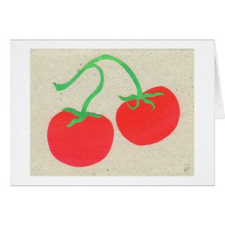 Tomates Tarjeta