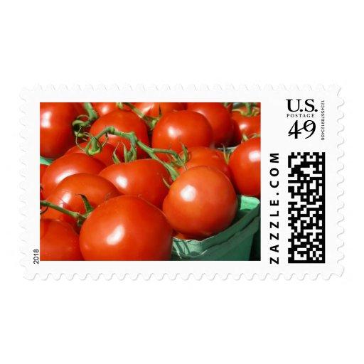Tomates Timbre Postal
