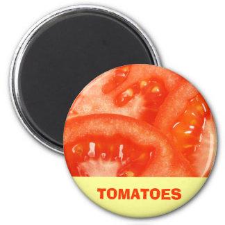 Tomato 2 Inch Round Magnet