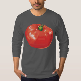 Tomato American Apparel Jersey Long Sleeve T-Shirt