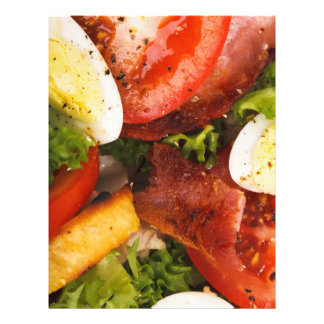 Tomato and Bacon Salad Flyer