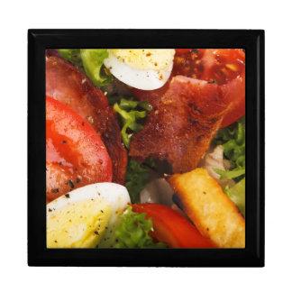 Tomato and Bacon Salad Keepsake Boxes