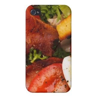 Tomato and Bacon Salad Case For iPhone 4