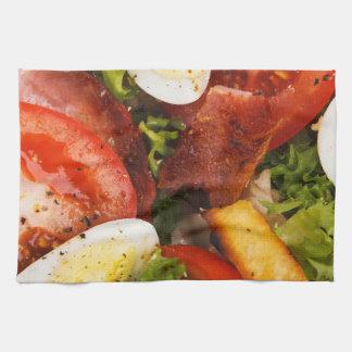 Tomato and Bacon Salad Hand Towel