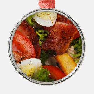 Tomato and Bacon Salad Christmas Tree Ornament