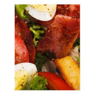 Tomato and Bacon Salad Postcard