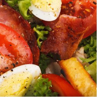 Tomato and Bacon Salad Statuette