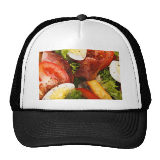 Tomato and Bacon Salad Trucker Hat