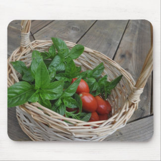 Tomato and Basil Dreams Mouse Pad