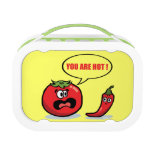 Tomato and chilli lunchboxes