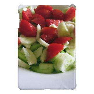 Tomato and cucumber salad\ iPad mini case