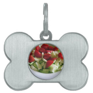 Tomato and cucumber salad\ pet tag