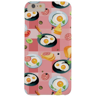 Tomato and Fried Eggs Pattern Barely There iPhone 6 Plus Case