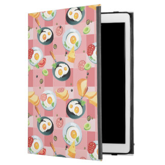Tomato and Fried Eggs Pattern iPad Pro Case